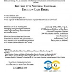 UC Hastings - Ebitu Law Group Fashion Law Panel Flyer