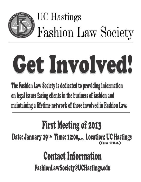 Hastings Launches Fashion Law Society UC Hastings Launches Fashion Law Society, Names ELG Attorney Uduak Oduok Alumni Advisor #Fashionlaw