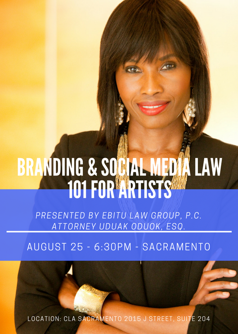 Branding and Social Media law 101 for Artists
